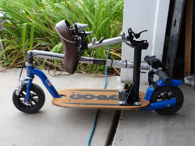 Air Travel With GoPed Kickscooter – Mobility Mod